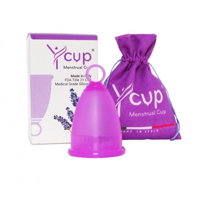 Ycup menstruační kalíšek fialový 2