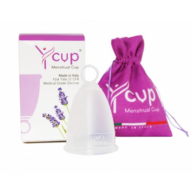 Ycup menstruační kalíšek transparent 1