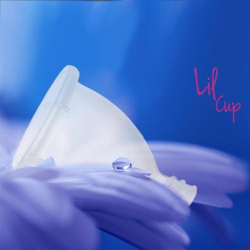LilCup Juno menstruační kalíšek čirý S