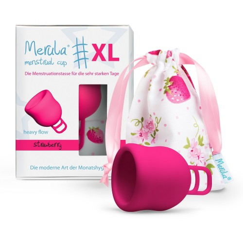 Merula Cup Strawberry XL menstruační kalíšek