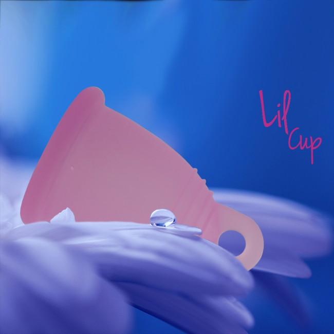 LilCup Rin menstruační kalíšek růžový M