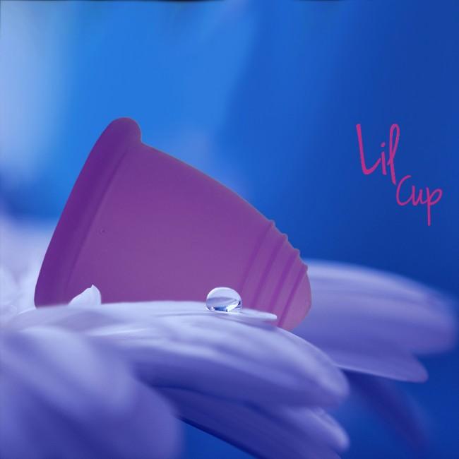 LilCup Neo menstruační kalíšek fialový M