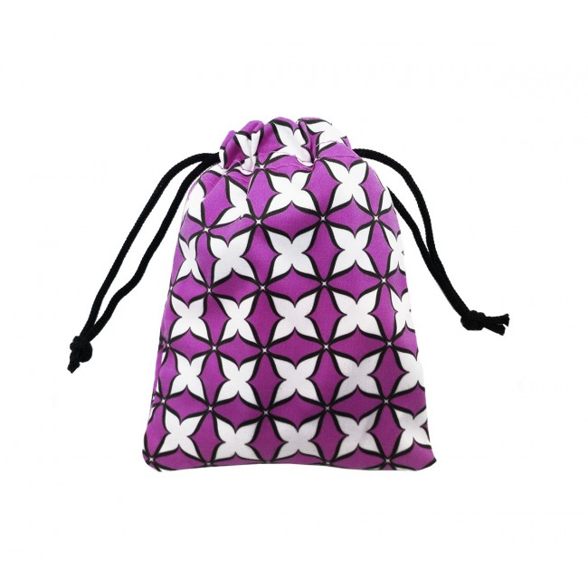 Dekorativní taštička, pytlíček fialový