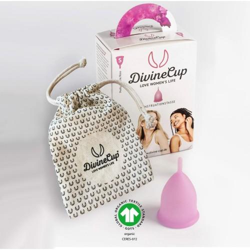 DivineCup menstruační kalíšek růžový S