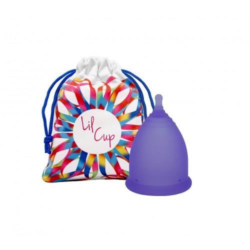 LilCup Joy MINI menstruační kalíšek fialový