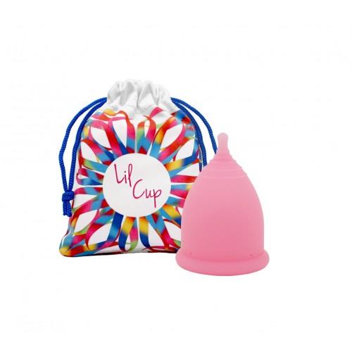 LilCup Joy MINI menstruační kalíšek růžový