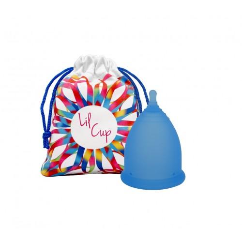 LilCup Joy MINI menstruační kalíšek modrý