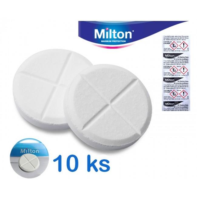Milton dezinfekční, sterilizační tablety mini 10ks