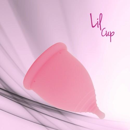 LilCup menstruační kalíšek růžový 1