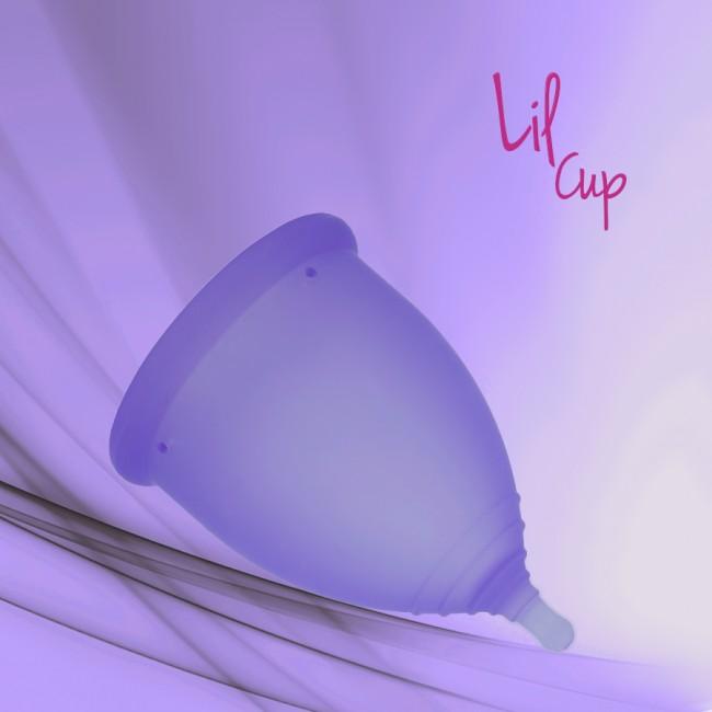 LilCup menstruační kalíšek fialový 1
