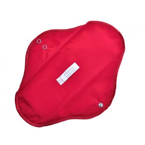 Menstruační vložka Momiji, omyvatelná, na noc, červená
