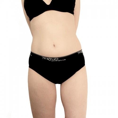 Menstruační kalhotky Classic s gumou černé