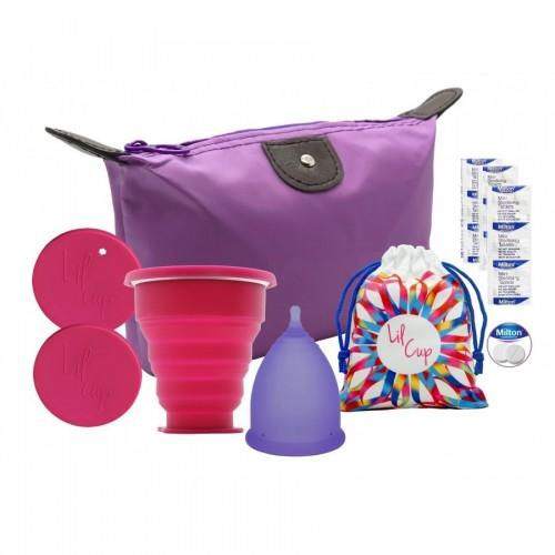 Lilcup Joy startovací balíček + sterilizační kelímek + sterilizační tablety Milton