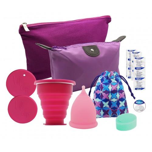 Lilcup Joy startovací balíček, sada menstruačních pomůcek