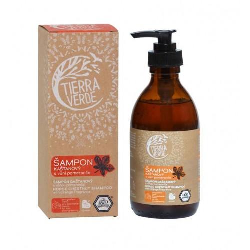 Kaštanový šampon s vůní pomeranče 230 ml