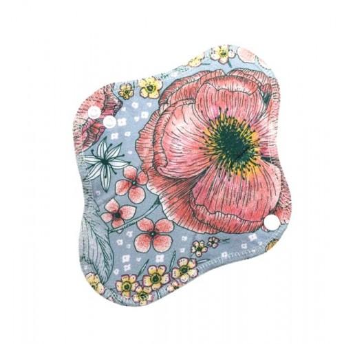 Menstruační Bio GOTS  látková vložka na den Poppy