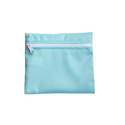 Pytlík nepromokavý na menstruační kalhotky, vložky modrý