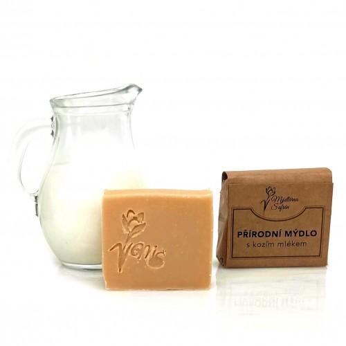 Přírodní mýdlo s kozím mlékem