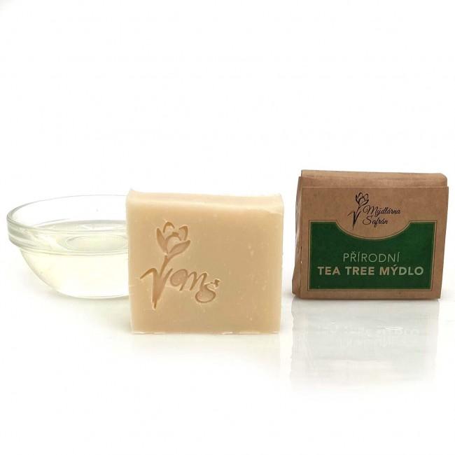 Přírodní Tea Tree mýdlo