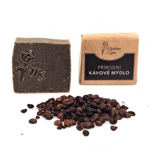 Přírodní kávové mýdlo