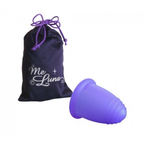 MeLuna Sport fialový vel. L basic menstruační kalíšek
